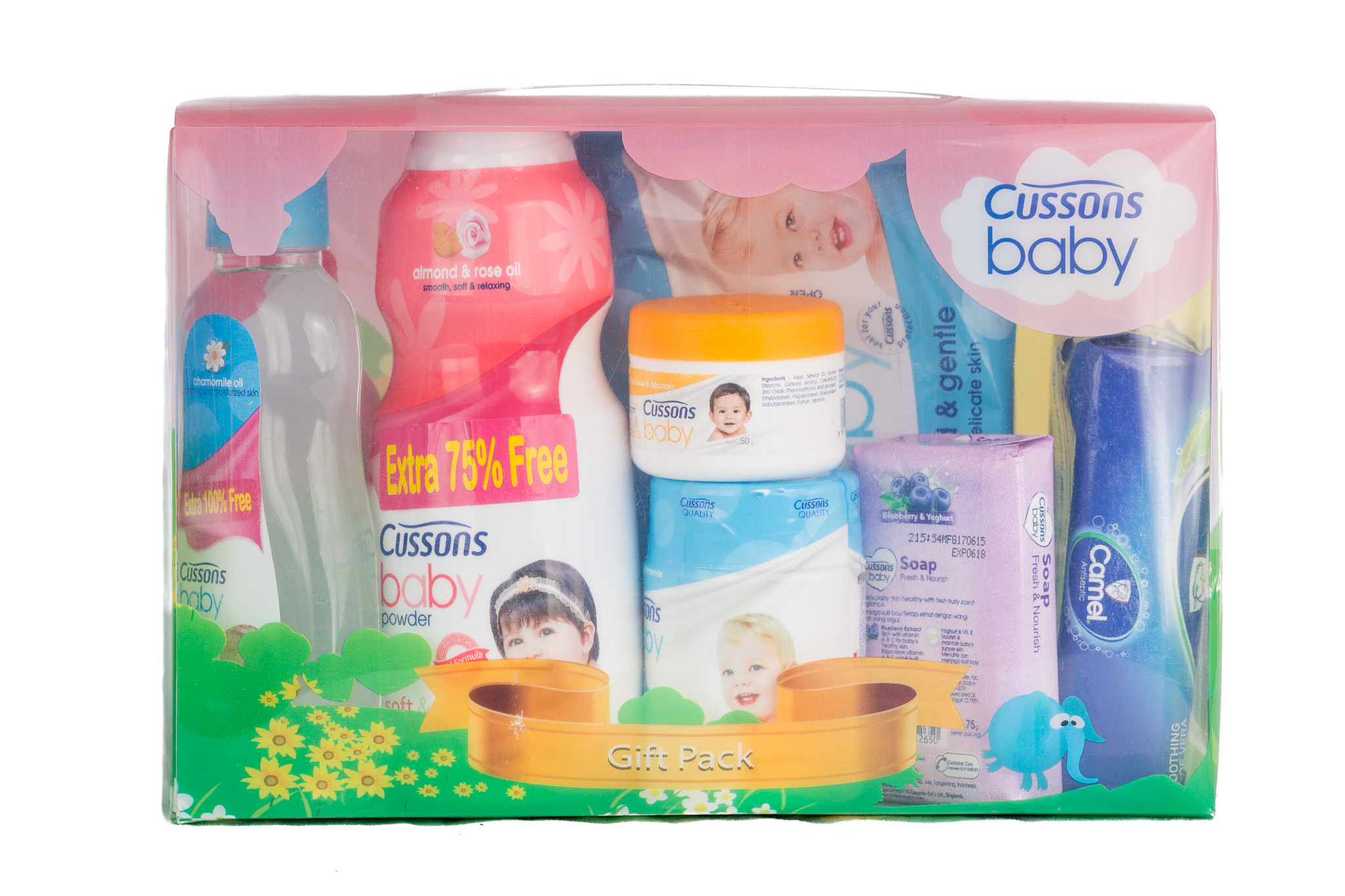 Johnson Baby Gift Box Ideas Cussons Cream Mild And Gentle 50 Gr Pack O Mall Ghana